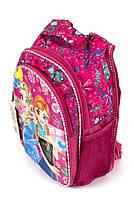 Рюкзак школьный 3D Эльза 1254 розовый Турция, фото 2