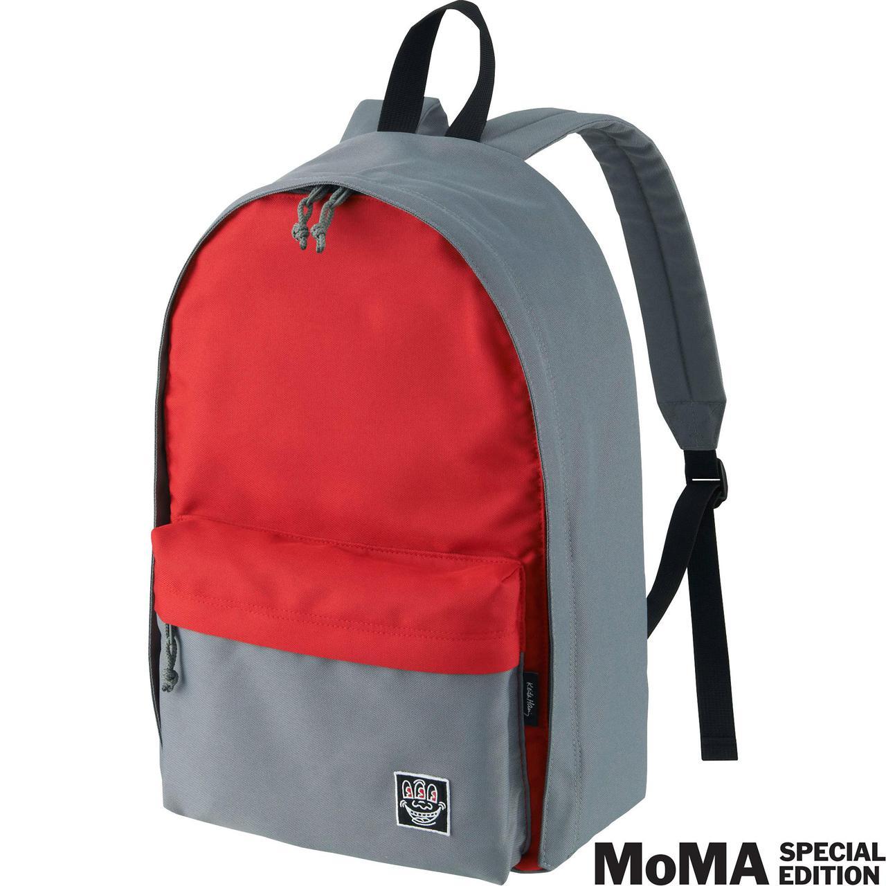 Рюкзак Uniqlo Men SPRZ NY (Keith Haring) RED