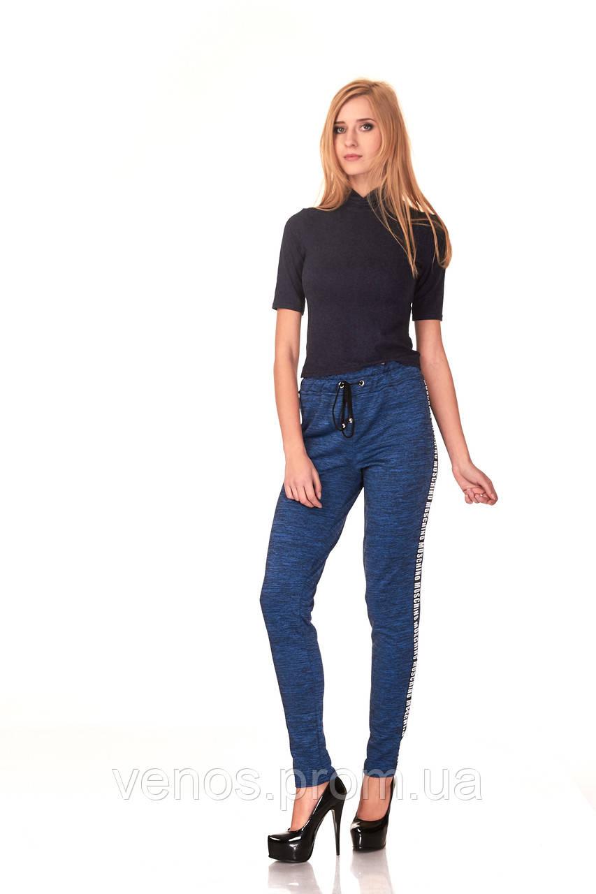 Модные спортивные женские брюки. БР025