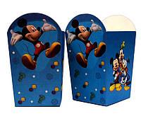 """Коробки  для попкорна """"Mickey Mouse"""". В упак:6 шт."""