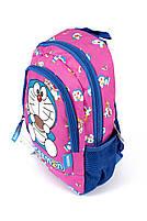 Рюкзак шкільний Doraeman 1821 фіолетовий Туреччина, фото 2