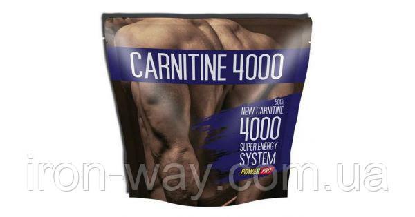 PowerPro L-Carnitine 4000 500g (Лимон)