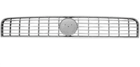 Решетка радиатора серебр Fiat Grande Punto  735489584