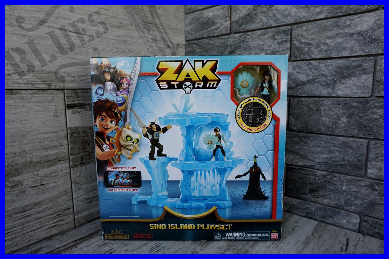 Игровой набор Остров Сино Зак Шторм / Zak Storm Sino Island Action Figure Playset