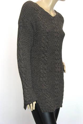 Вязаний светр туніка , фото 2