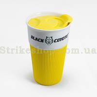 Керамічна термокружка Cary Yellow