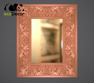 Зеркало настенное Sapporo в бронзовой раме