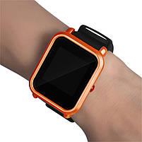 Amazfit Bip Защитный бампер для смарт часов, Orange, фото 4