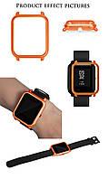 Amazfit Bip Защитный бампер для смарт часов, Orange, фото 6