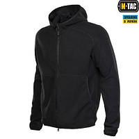 Куртка M-TAC LITE MICROFLEECE HOODIE BLACK