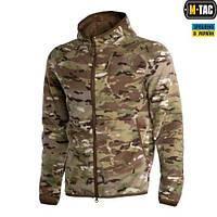Куртка M-TAC LITE MICROFLEECE HOODIE MULTICAM