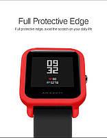 Amazfit Bip Защитный бампер для смарт часов, Red, фото 3