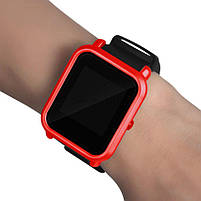 Amazfit Bip Защитный бампер для смарт часов, Red, фото 4