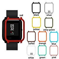Amazfit Bip Защитный бампер для смарт часов, Red, фото 6