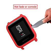 Amazfit Bip Защитный бампер для смарт часов, Red, фото 5