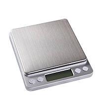 Электронные весы PWE Scale-I2000 с 2-мя чашами (0.1- 500 гр)