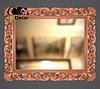 Зеркало настенное Milan в бронзовой раме, фото 2