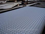 Нержавеющий лист AISI 304 3,0 Х 1000 Х 2000 рифленый MAN, фото 2