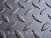 Нержавеющий лист AISI 304 3,0 Х 1000 Х 2000 рифленый MAN, фото 3