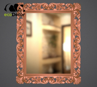 Зеркало настенное Milan в бронзовой раме