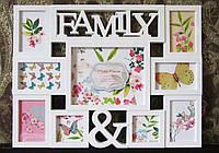 "Фоторамка для декора стены ""Family"", фото 1"