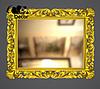 Зеркало настенное Milan в золотой раме, фото 2