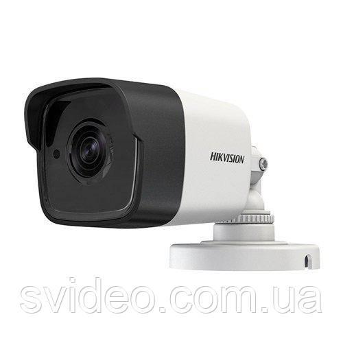 Turbo HD 2Мп видеокамера DS-2CE16D8T-ITE  PoC, 3.6мм, угол обзора 82° , Ultra Low-Light EXIR, WDR 120