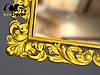 Зеркало настенное Milan в золотой раме, фото 4