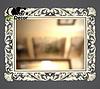 Зеркало настенное Milan в серебряной раме, фото 2
