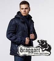 Зимняя мужская куртка Braggart 17197 темно-синий