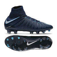 Детские футбольные бутсы Nike Hypervenom Phantom III DF FG Junior 882087-414 4f83a2a1c13c7