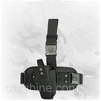 Кобура набедренная тактическая, для пистолета Форт 14 (черная 025), фото 1