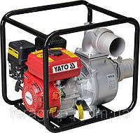 """Мотопомпа YATO 4"""" 7,7 л.с. 96м³/час"""