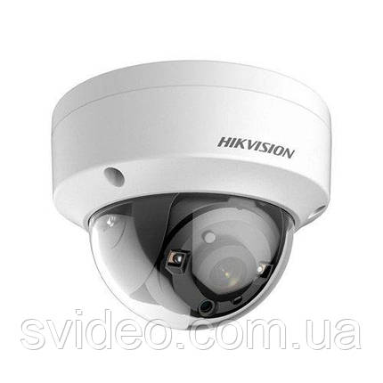 Turbo HD 2Мп видеокамера DS-2CE56D8T-VPITE PoC, 2,8мм, угол обзора 103° , Ultra Low-Light EXIR, WDR 120, фото 2