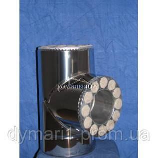 Тройник термо 87 для саун Ф100/200 к/к
