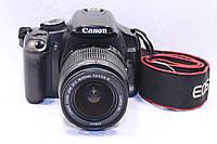 Б/у Зеркалка Canon EOS 450d ef_s 18-55 is, фото 1