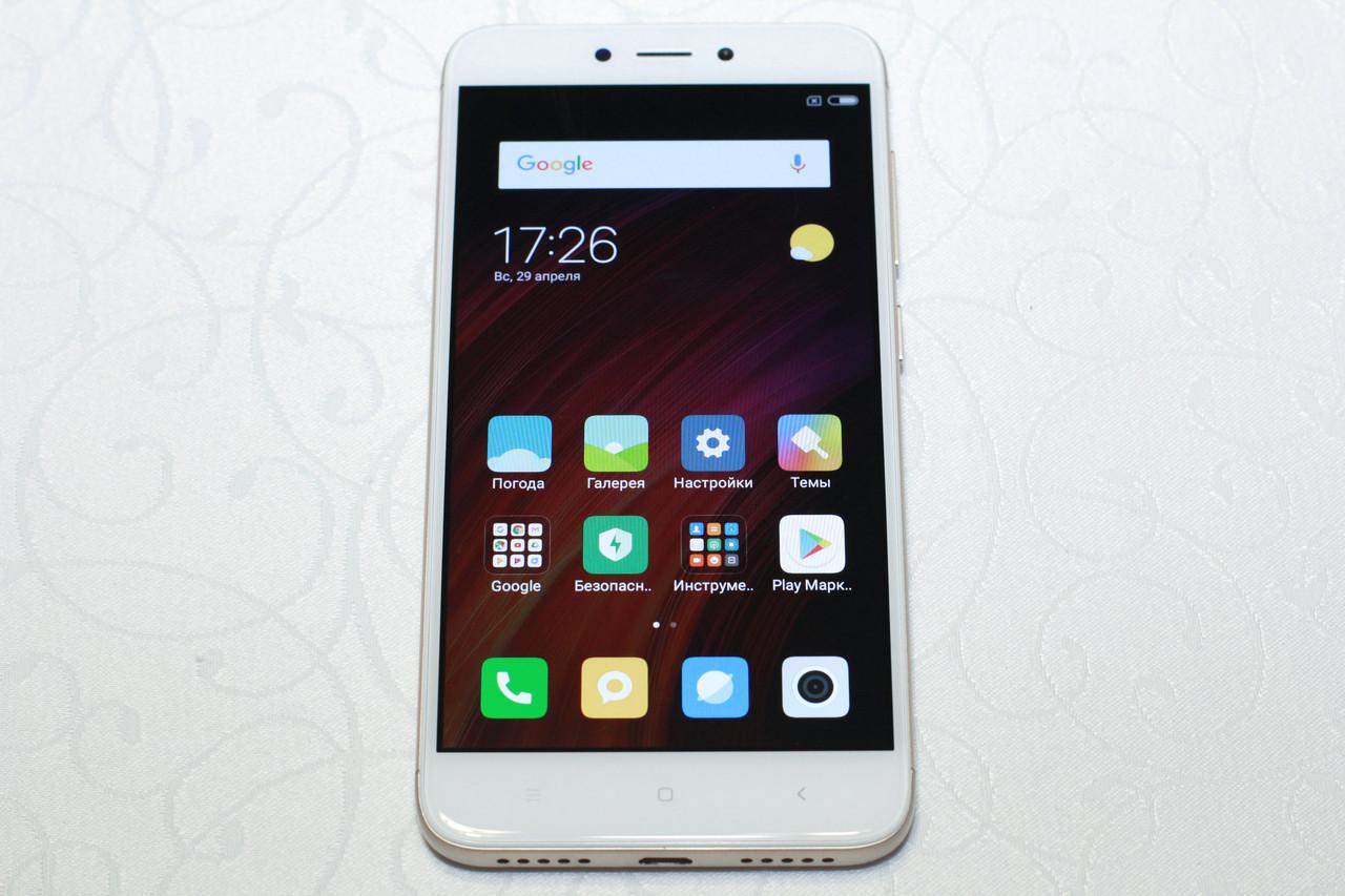 Б/у Смартфон Xiaomi redmi 4x gold 3/32Gb №4