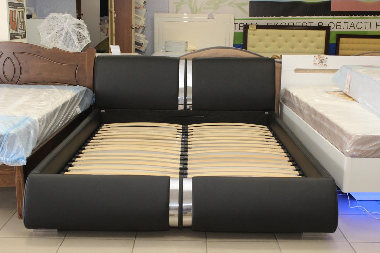 Кровать двуспальная ортопедическая с нишей для белья