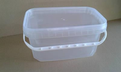 Контейнеры пластиковые прямоугольные