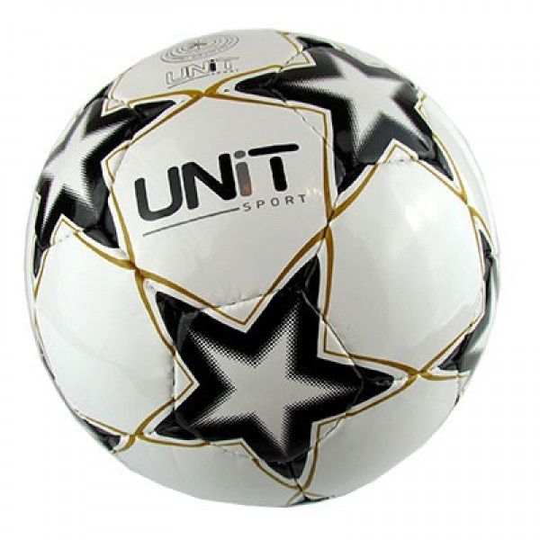 Мяч футбольный UNIT Shine (черно-белый)