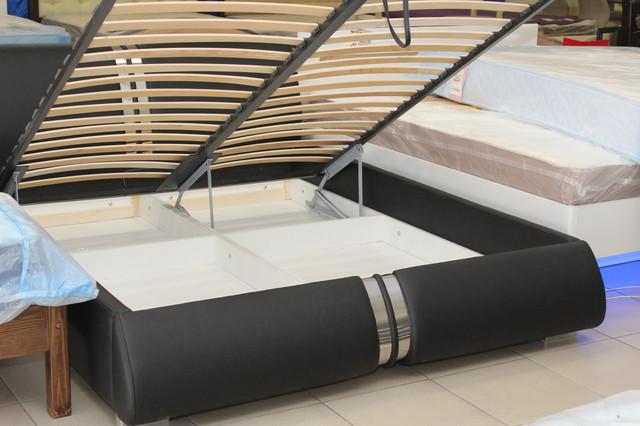 ортопедическая кровать с нишей для белья