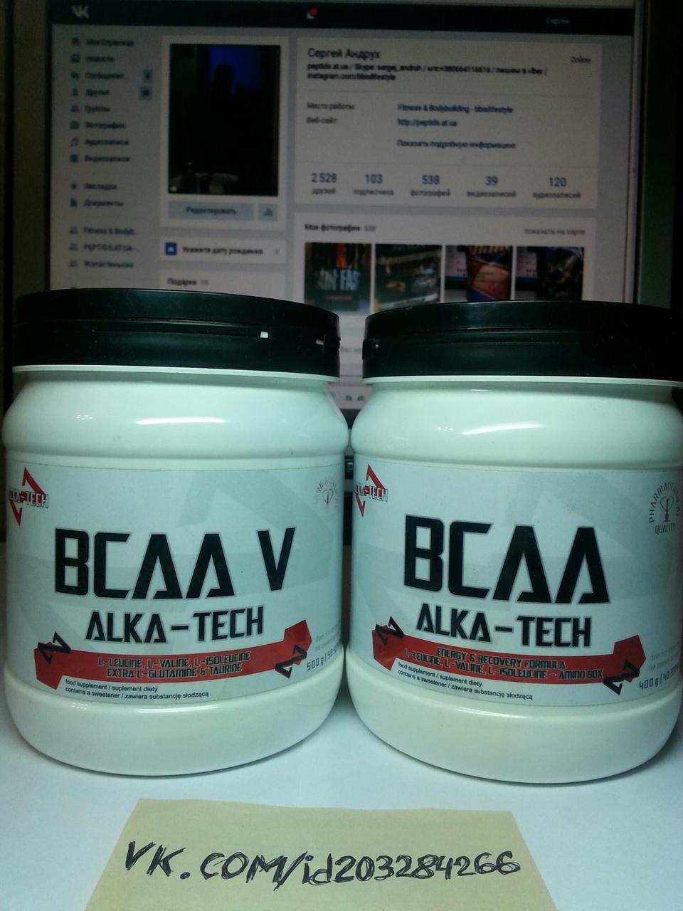 Аминокислоты BCAA Alca-tech BCAA 400г