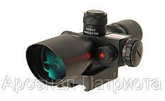 Оптичний приціл ACM 2.5-10X40 з лазером