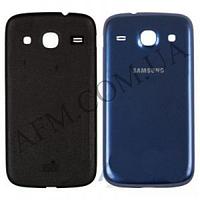 Задняя крышка Samsung i8262 Galaxy Core синяя оригинал