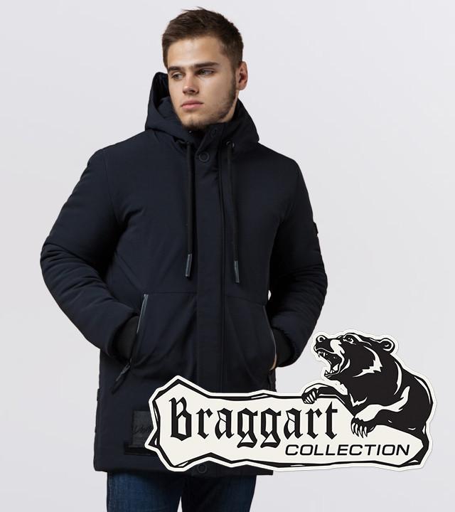 Braggart 'Black Diamond'. Куртка для мужчин 9085 темно-синий