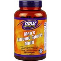 Витамины для мужчин, Now Foods, Men's Extreme Sports Multi, 90 sgel