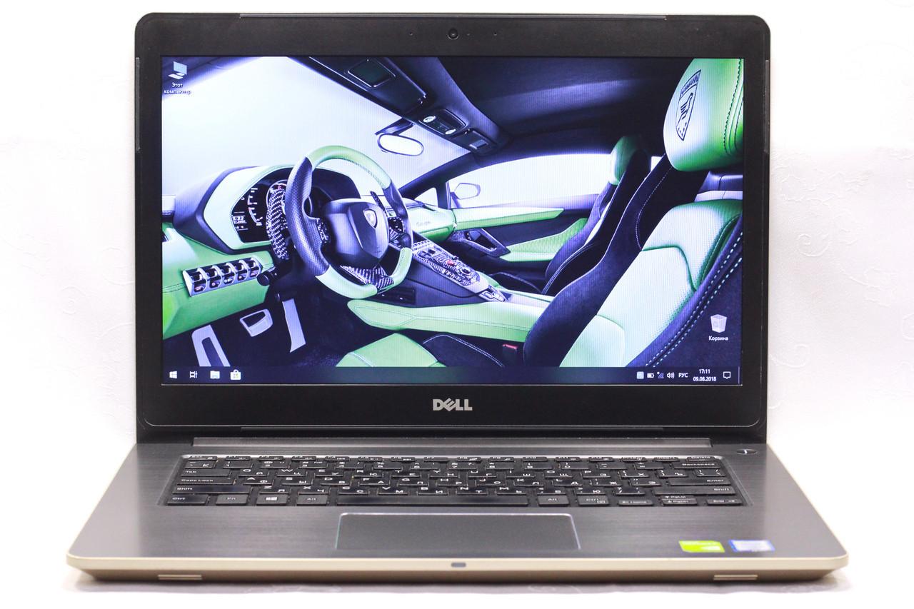 Б/у ноутбук игровой Dell Vostro 14-5459 core_i5 ssd