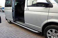 Боковые площадки Fullmond VW T5 (2 шт, алюм)