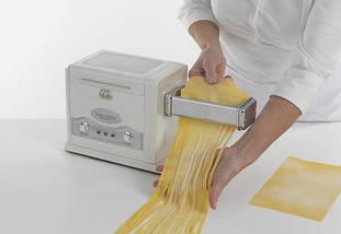 Набор электрическая лапшерезка - тестораскатка Marcato Pasta fresca, фото 3
