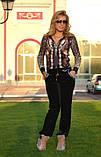 Жіночий велюровий спортивний костюм, розм 42,44,46,48, фото 2
